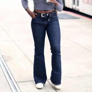 Madewell Flea Market Flare Jeans In Kenner Wash 28